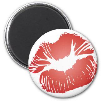 Red Lips Refrigerator Magnet