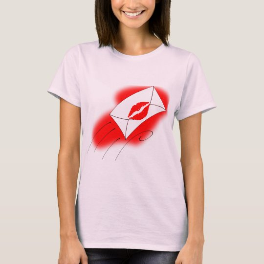 Red Lips Sealed with a Kiss T-Shirt
