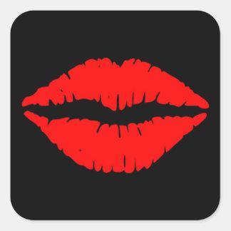 Red Lips Sticker