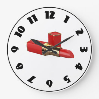 Red Lipstick Clock