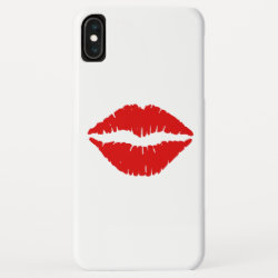 Red Lipstick iPhone XS Max Case