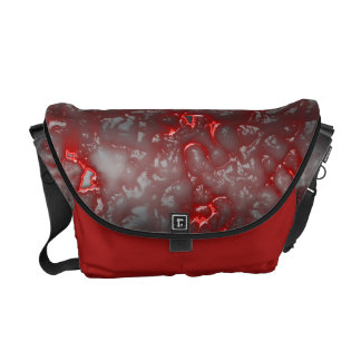 Red Liquid Commuter Bags
