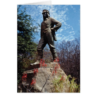Red Livingstone, Victoria Falls, Zimbabwe, Africa Greeting Cards
