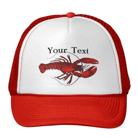 Red Lobster 3 Trucker Hat