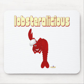 Red Lobster Chef Lobsteralicious Mouse Pad