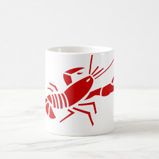 Red lobster coffee mugs