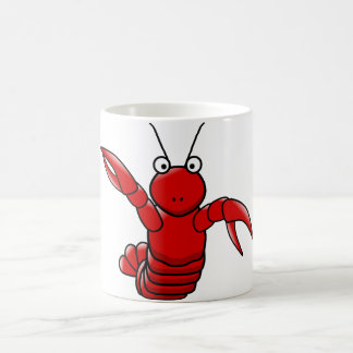 Red Lobster Image White Classic Mug