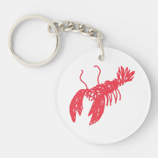 Red Lobster Keychain