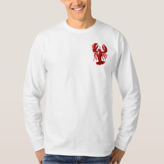 Red Lobster Mens Long Sleeve T-shirt