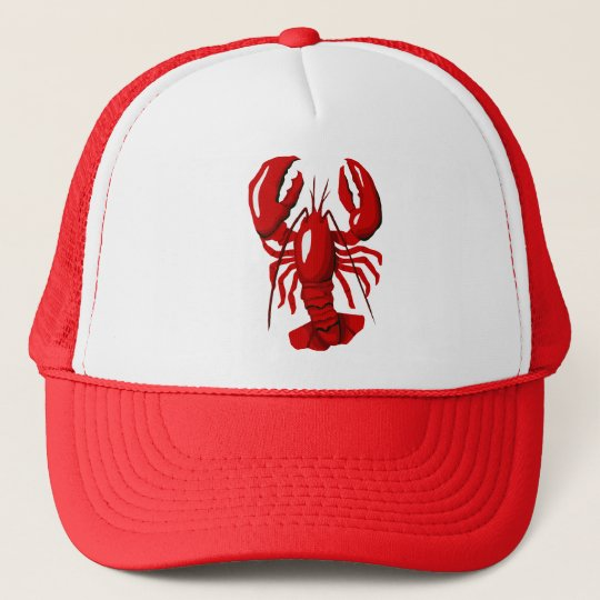 Red Lobster Mesh Hat