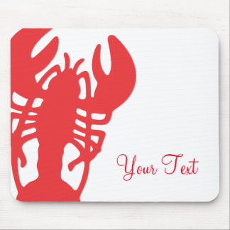 Red Lobster Mouse Pad