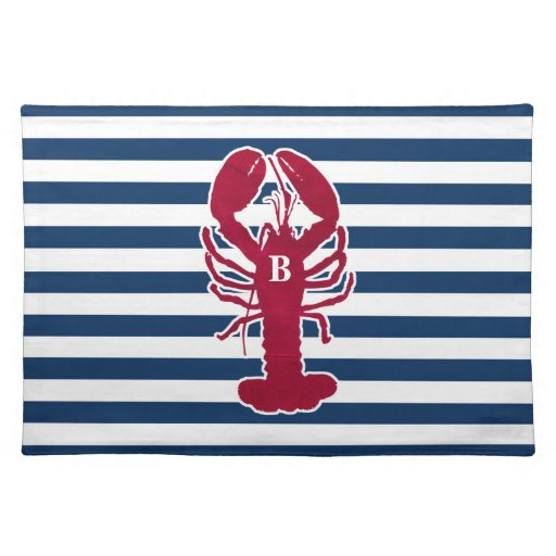 Red Lobster Placemats with blue and white Stripes Zazzle : redlobsterplacematswithblueandwhitestripes rf58420a4a8ab45988b3816123a3af7b62cfku8byvr512 from www.zazzle.com size 512 x 512 jpeg 39kB