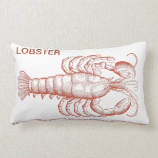 Red Lobster Throw Pillows