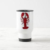 Red Lobster Travel Mug