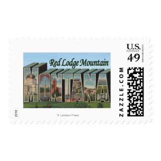 Red Lodge Mountain, Montana Stamp
