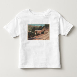 Red Lodge, MT - View of Mae West Curve Toddler T-shirt