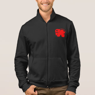 Red Logo Elephant Jacket