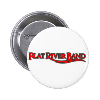 RED LOGO  frb WEAR Pinback Buttons