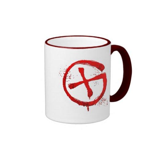 Red logo mug