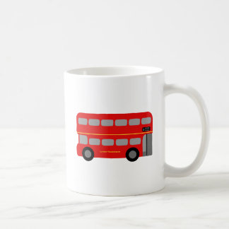 Red London Bus Coffee Mug