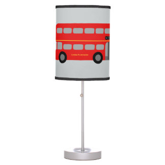 Red London Bus Desk Lamp