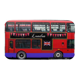 Red London Bus Double Decker iPhone 3 Case-Mate Cases