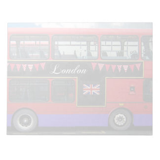 Red London Bus Double Decker Note Pads