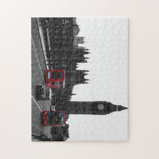 Red London Bus Jigsaw Puzzle