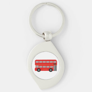 Red London Bus Keychain