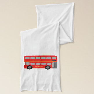 Red London Bus Scarf