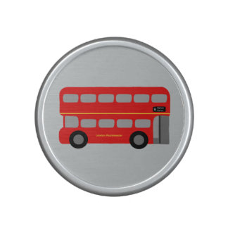 Red London Bus Speaker