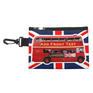 Red London Bus Themed Accessory Bag