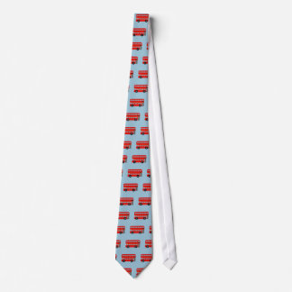 Red London Bus Tie