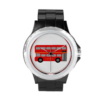 Red London Bus Wrist Watches