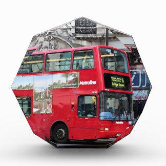 Red London Double Decker Bus, England Award