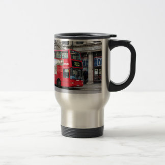 Red London Double Decker Bus, England Coffee Mug