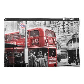 Red London Doubledecker Bus Travel Accessories Bags