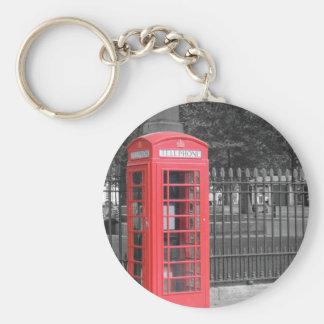 Red London Phonebox Keychain