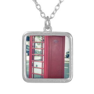 Red London Telephone Box Custom Necklace