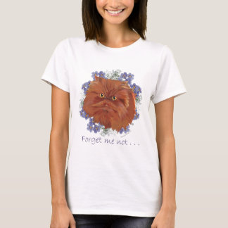 Red Longhair Persian Cat T-Shirt