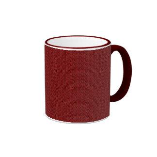 Red Loops Ringer Coffee Mug