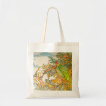 Red Lored Amazon Parrot Tote Bag