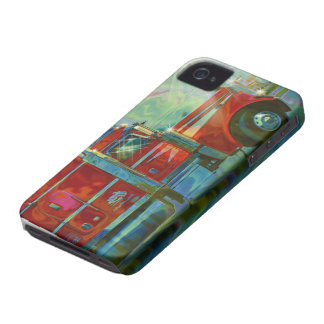 Red Lorry Freight Truck Driver's iPhone 4 Case