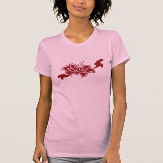 Red Lotus Flower Shirt