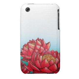 Red Lotus iPhone 3 Case-Mate Case