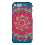 Red Lotus Mandala Barely There iPhone 6 Case