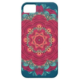 Red Lotus Mandala iPhone 5 Case