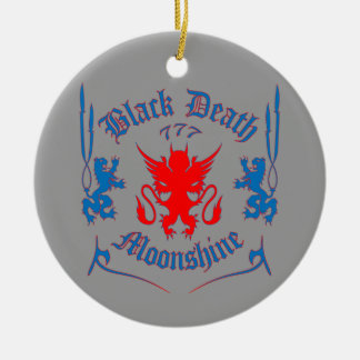 Red Louie Ceramic Ornament
