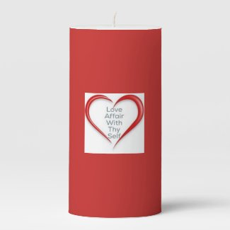Red Love Affair with Thy Self Ritual Candle