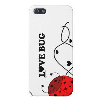 Red Love Bug- iphone4 iPhone SE/5/5s Cover